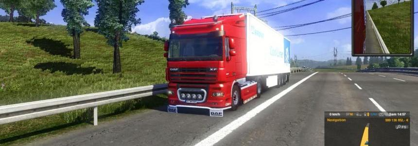 Daf Paccar engine sound v6