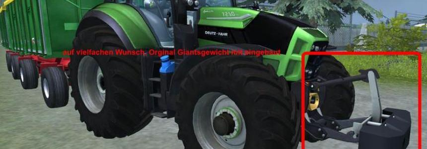 Deutz TTV 7260 with trailer v2.0