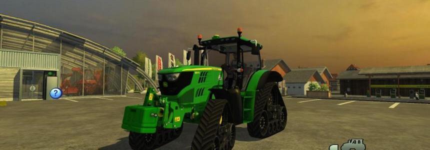 John Deere 6150R + H360 loader