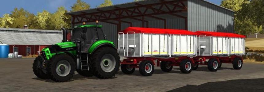 Kroger Agroliner HKD 302 White v1.0