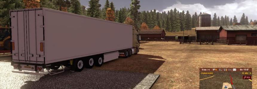 Krone old trailer