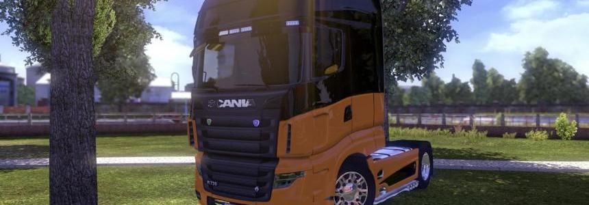 Scania R700 new V2.5 beta by AU44 Patch V1.7.1