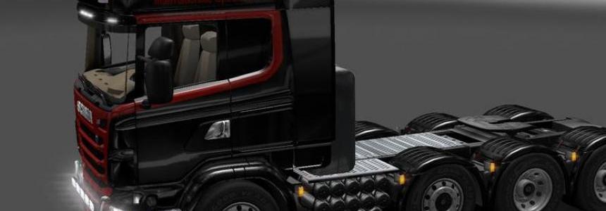 Scania skin Global Trans v1.0