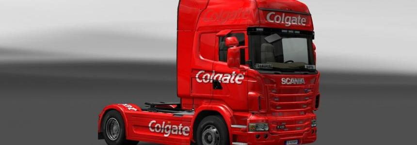 Skin Scania Colgate
