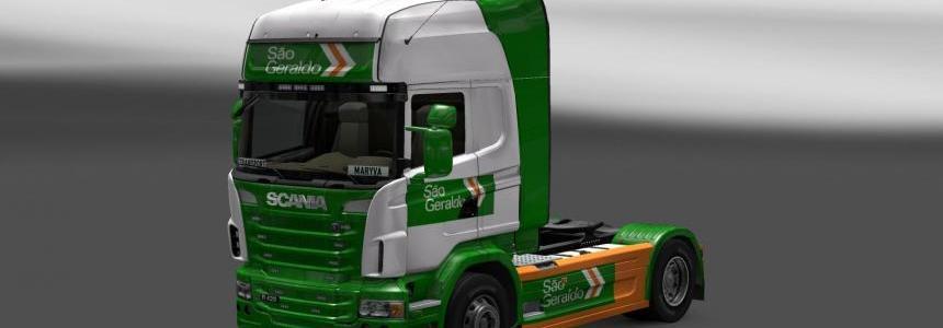 Skin Scania Sao Geraldo