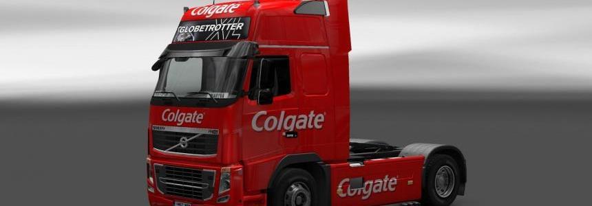 Skin Volvo FH16 Colgate