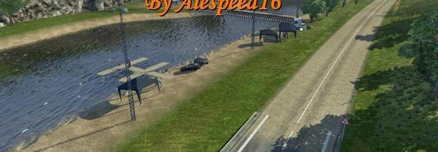 TruckSim Map 4.x - Modifield By Alespeed16