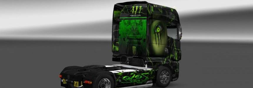 Zoso Verde Scania R700 Skin