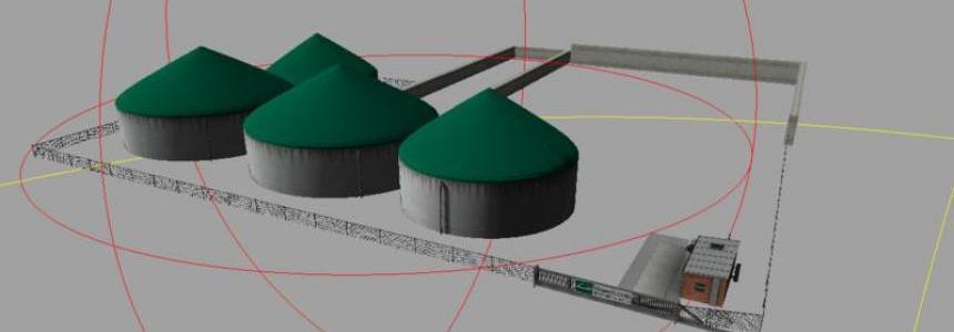 Biogas plant MDW v0.1 BETA