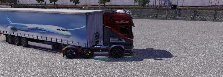 Boeing trailer