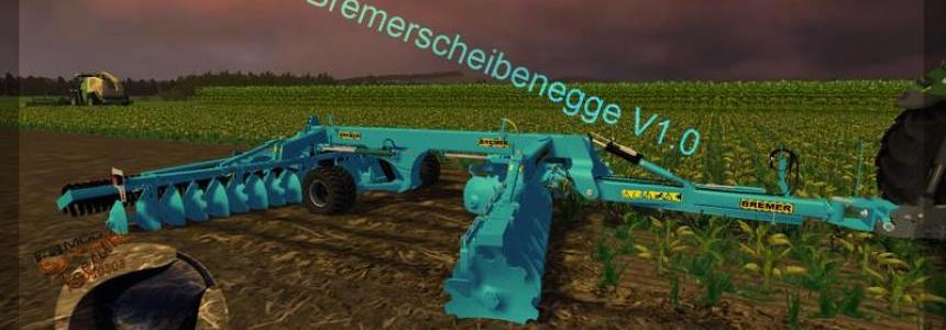 Bremer disc harrow v1.0