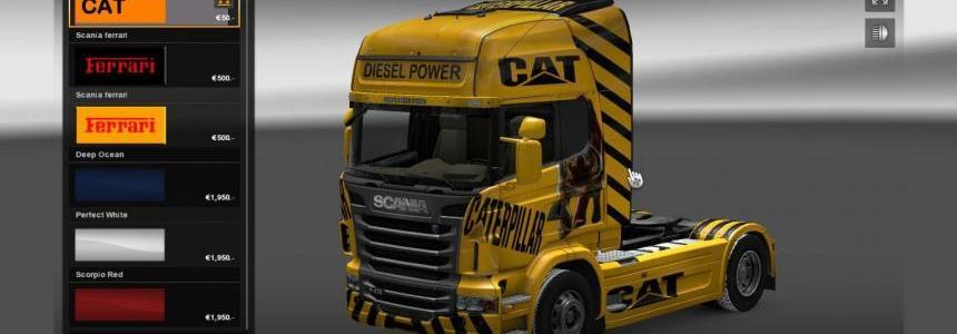 Cat Scania skin
