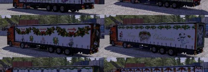 Christmas skinpack trailers