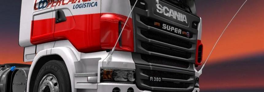 CooperCarga Scania Skin