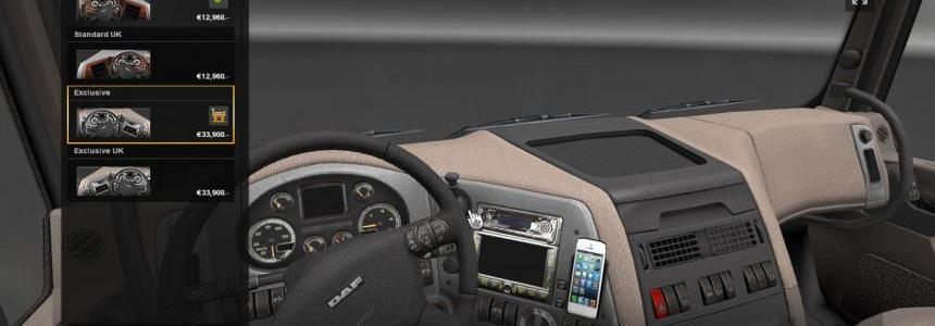 DAF XF White iPhone 5 for interior