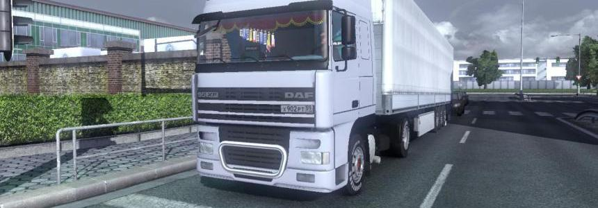 DAF XF95 + Real interior