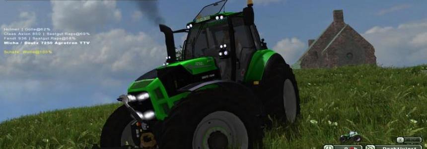 Deutz Fahr TTV 7250 v1.2 MR