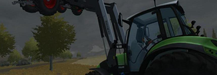Deutz TTV430 with front loader v1.1