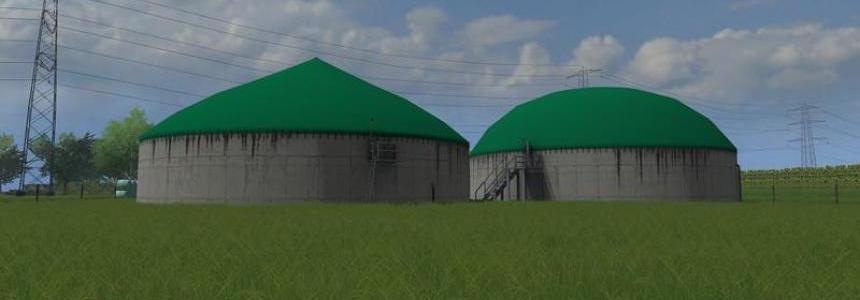 Digester for biogas plant v1.0 by NKB-Modding