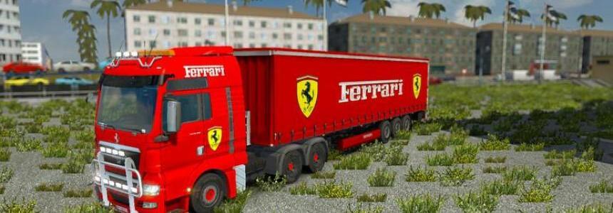 Ferrari Truck Trailer Interior