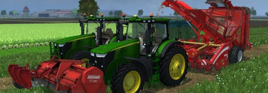 FT300 and beet harvester Combi v1.0