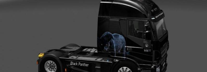 IVECO HI-WAY Black Panther theme