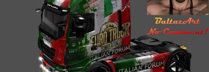 Iveco Hiway Italian forum skin