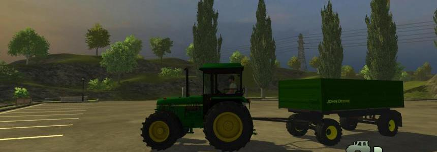 John Deere side tipper 1.0