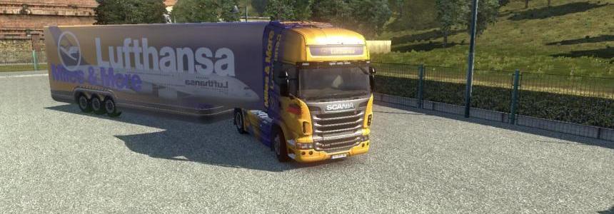 Lufthansa Combo Volvo & Scania