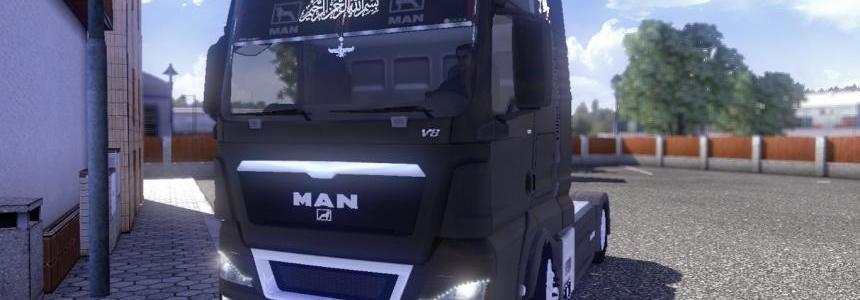 MAN TGX Iranian Tuning