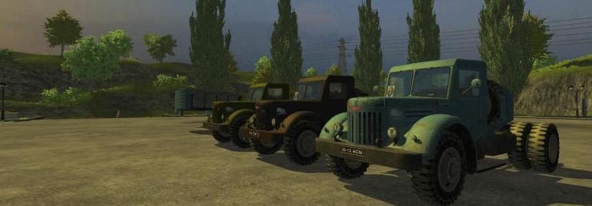 MAZ Truck + Trailer PACK