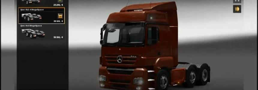 Mercedes Benz Axor 1.8.2.5