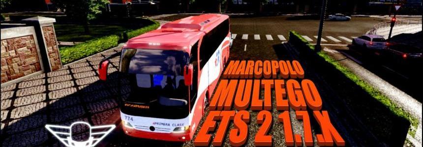 Mercedes-Benz Marcopolo Multego 4×2 v1.0