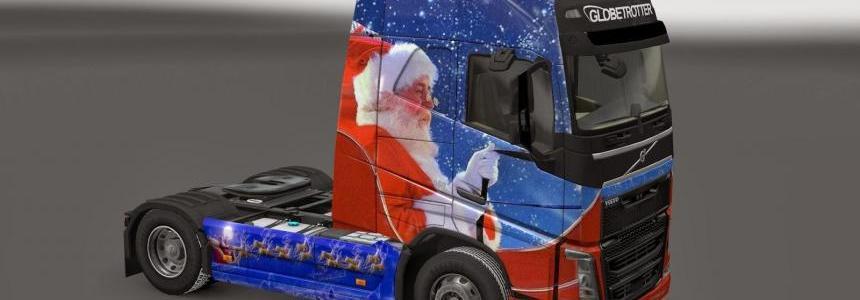 Merry Christmas 2013 Volvo FH16 Skin