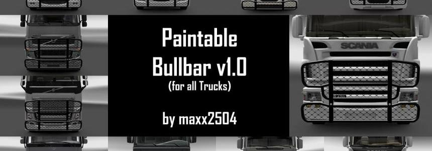 Paintable Bullbar v1.0