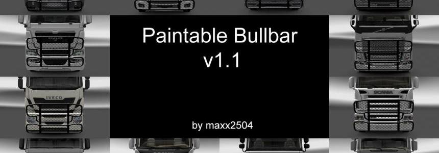 Paintable Bullbar v1.1
