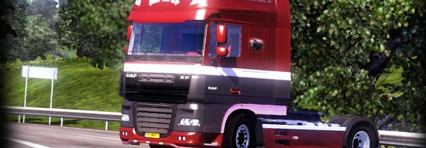 Peter Van Ray - DAF XF105 + Trailer skin