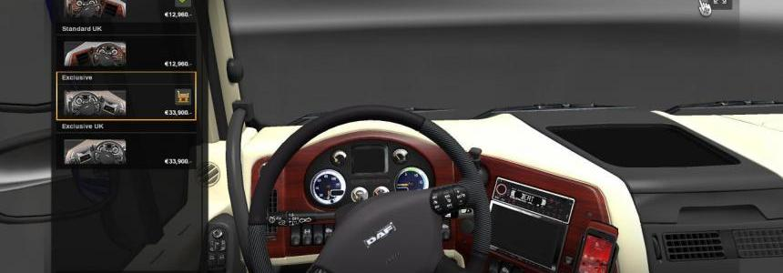 Premium interior for DAF XF
