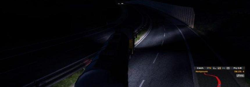 Realistic Headlight / Taillight Flare