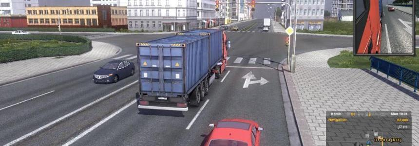 Ro Map Add-On ETS2