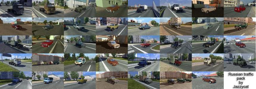 Russian Traffic Pack v1.0