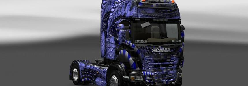 Scania Blue Ladder Skin