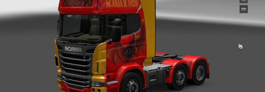 Scania Dragon Skin