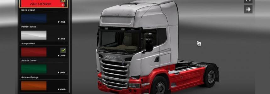 Scania EX Eddie Stobart Skin