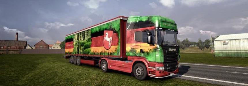 Scania Niedersachsen ohne Auflieger v1.0