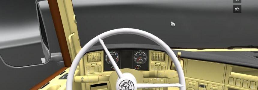 Scania R V8 Interior