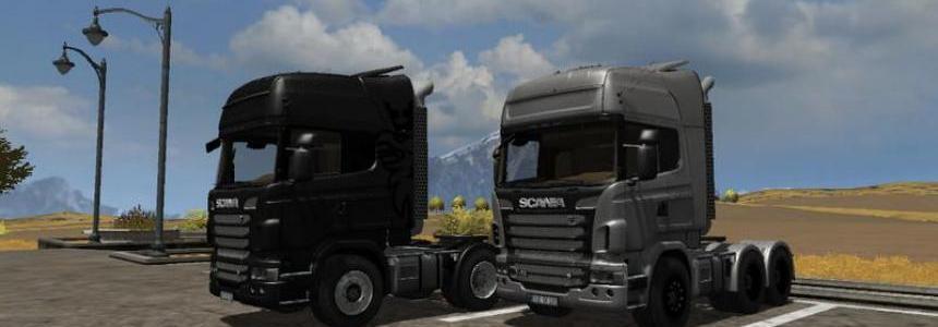 Scania R730 Topline v1.1 MR Silver