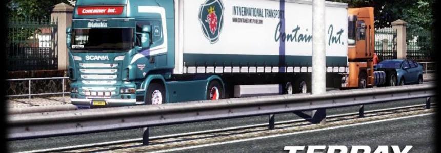 Scania R730 + Trailer skin