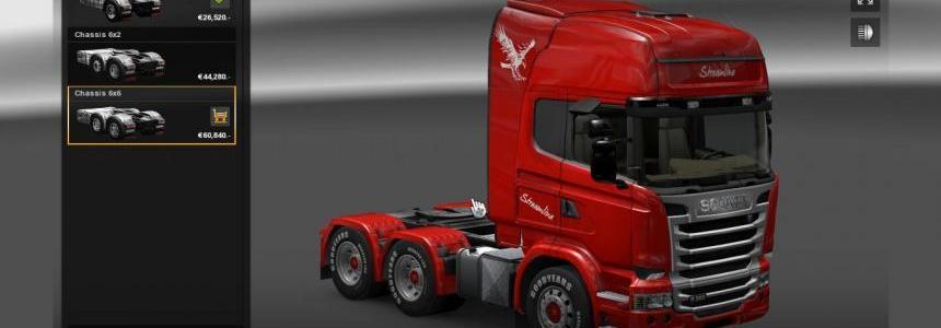 Scania Streamline 6×6