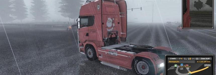 Scania Streamline Christmas Skin